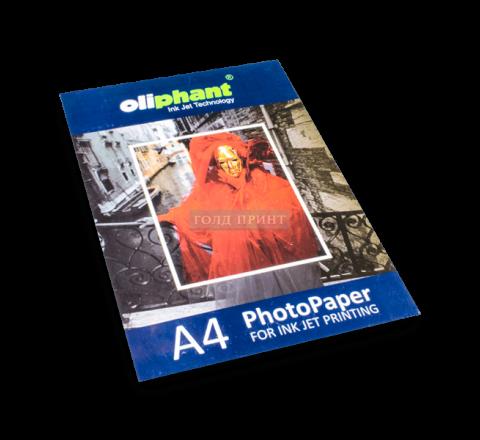 Фотобумага двухсторонняя матовая A4, 220 g/m, 50л