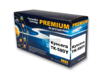 Тонер-картридж Kyocera TK-580 Yellow (Gold Print)