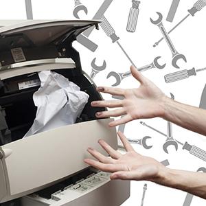 Почему принтер нужно обслуживать вовремя?